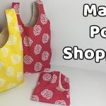 Market Poşeti Dikimi - Shopping Bag Sewing - YoncaHobby